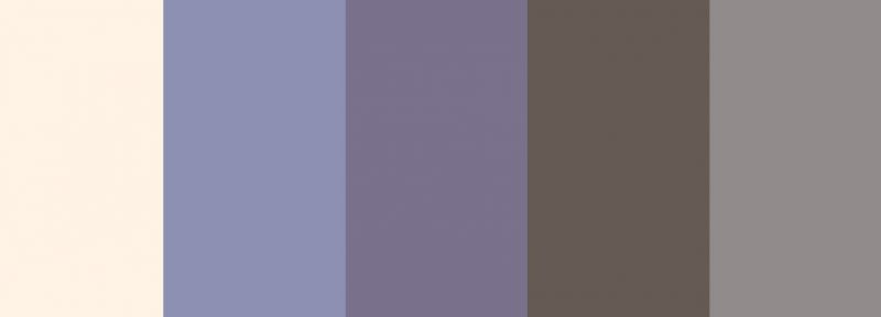 colour pallete for bluebell woods