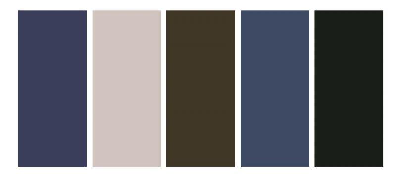 Urban colour pallet