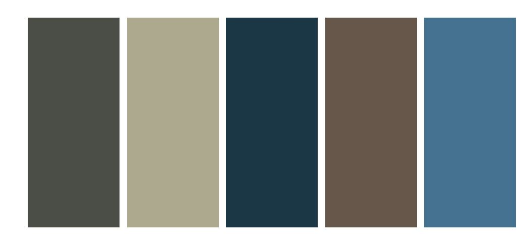 winter colour pallet