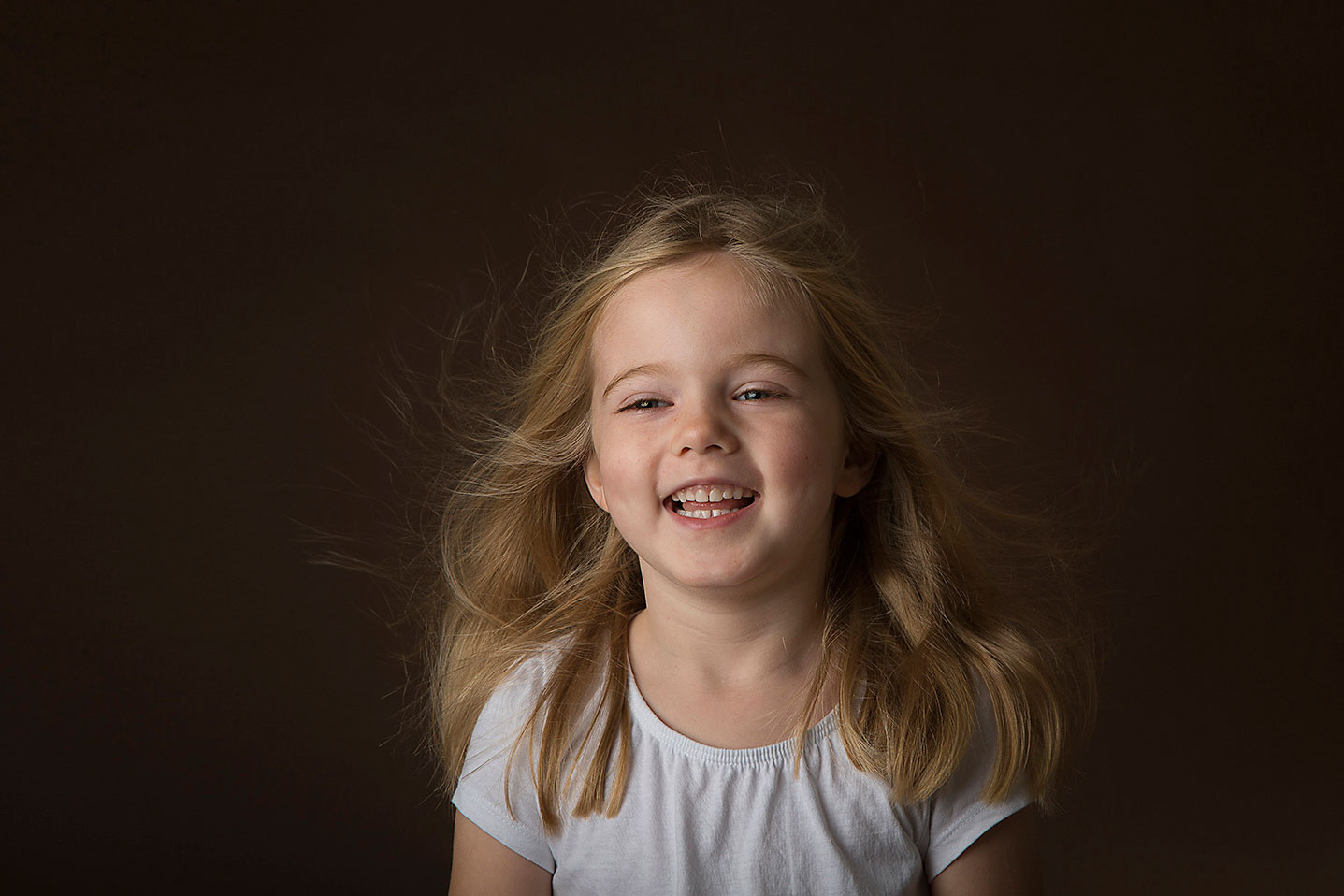 Dark Brown Backdrop childrens photoshoot London