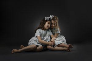 childrens studio photo shoot